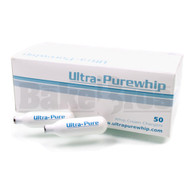 ULTRA PURE WHIP CREAM CHARGERS ASSORTED Pack of 50 8 GRAM