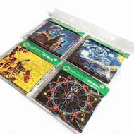 "OIL SLICK SLICK PACK-IT PACKET 4"" X 3"" SPACE SERIES Pack of 1 4 Per Pack"