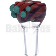 SAN DIEGO BORO GLASS BOWL TWIST SLIDES CHERRY WOOD FINISH 14MM