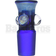 SAN DIEGO BORO GLASS BOWL GALAXY SPACE MILKY WAY FULL BLUE 18MM