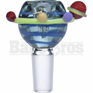 EMPIRE GLASSWORKS BOWL GALACTICA PLANETARY BLUE 14MM