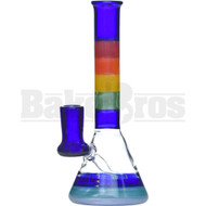 "MAVERICK GLASS WP OG MICRO BEAKER INCALMO 7"" RAINBOW FEMALE 14MM"