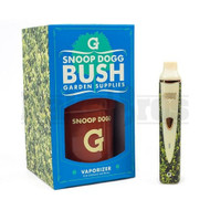 SNOOP DOGG G PEN BUSH VAPORIZER BY GRENCO SCIENCE FOR GROUND MATERIAL GREEN