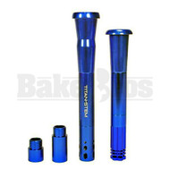 "TITAN STEM BY ACE LABZ 18MM & 14MM BLUE DOWNSTEM UNIVERSAL 3"" - 8"""