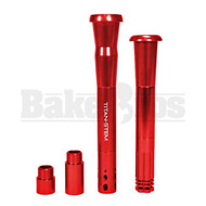 "TITAN STEM BY ACE LABZ 18MM & 14MM RED DOWNSTEM UNIVERSAL 3"" - 8"""