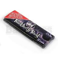 SKUNK ROLLING PAPERS HEMP 1 1/4 32 LEAVES BLACKBERRY SKUNK Pack of 6