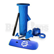 EYCE 2.0 REUSABLE WATER PIPE MOLD BLUE FEMALE 10MM