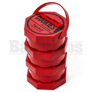 COOKIES HARVEST CLUB JARS BY GOODLIFE 3X STACKED JARS RED Pack of 1