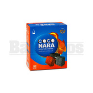 COCO NARA HOOKAH SHISHA CHARCOAL BLACK Pack of 120