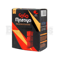 COCO MAZAYA COCONUT HOOKAH SHISHA CHARCOAL NATURAL Pack of 24