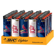 "BIC LIGHTER 3"" PRO SERIES MLB ST. LOUIS CARDINALS Pack of 50"