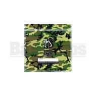 """STINK SACK SMELL PROOF PLASTIC BAG 4"""" x 6"""" CAMO Pack of 1 10 Per Pack"""