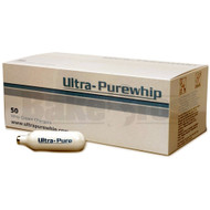 ULTRA PURE WHIP CREAM CHARGERS ASSORTED Pack of 100 8 GRAM