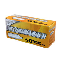 NITRO CHARGED CREAM CHARGERS ASSORTED Pack of 50 8 GRAM