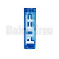 """PUFF WP TRAVELER PORTABLE BUBBLER BOTTLE GLASS ON PLASTIC COMPLETE KIT 8"""" BLUE FEMALE 10MM"""