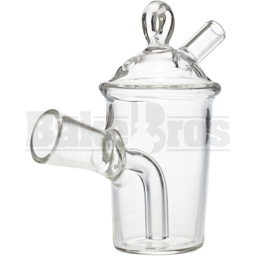 GLASS BLUNT OR PRE ROLLED CONE JOINT BUBBLER SUNDAE CUP