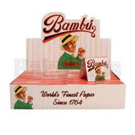 BAMBU PURE HEMP CIGARETTE PAPER UNFLAVORED Pack of 50