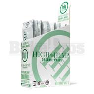 HIGH HEMP ORGANIC WRAPS 2 WRAPS WITH 2 FILTERS ORIGINAL Pack of 25