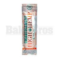 HIGH HEMP ORGANIC WRAPS 2 WRAPS WITH 2 FILTERS MAUI MANGO Pack of 1