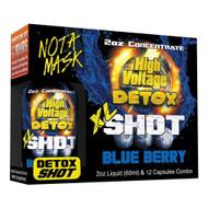 HIGH VOLTAGE DETOX XL SHOT BLUEBERRY 2 FL OZ