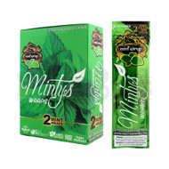 MINTY'S 2 HERBAL WRAPS MINT Pack of 25
