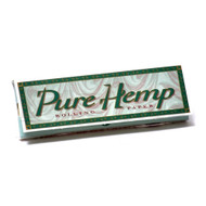 PURE HEMP ROLLING PAPERS 1 1/4 50 LEAVES UNFLAVORED Pack of 1