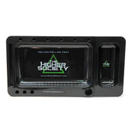 "THS DELUXE ROLLING TRAY BLACK Pack of 1 12"" X 6.5"""