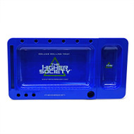 "THS DELUXE ROLLING TRAY BLUE Pack of 1 12"" X 6.5"""