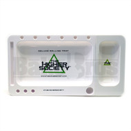 "THS DELUXE ROLLING TRAY WHITE Pack of 1 12"" X 6.5"""