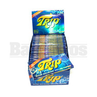 TRIP2 CLEAR CIGARETTE PAPERS 1 1/4 50 LEAVES UNFLAVORED Pack of 24