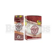 TWISTED HEMP WRAPS 4 PER PACK SWEET Pack of 15