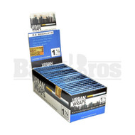 URBAN WRAPS FILTER PRINTED ROLLING PAPERS 1 1/2 33 LEAVES UNFLAVORED Pack of 24