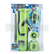EYCE 2.0 REUSABLE WATER PIPE MOLD ASSORTED BLACK GREEN FEMALE JOINTLESS