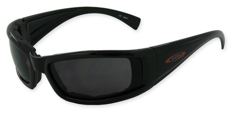 #07581 Black CSF frame and PC smoke 2.0mm lenses for bright reflective light conditions