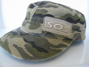 Mens' Camouflage Cap side view