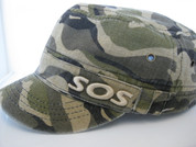 Camouflage cap womens'