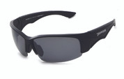 FL7364-1 Matte black frame and smoke TAC polarized lens