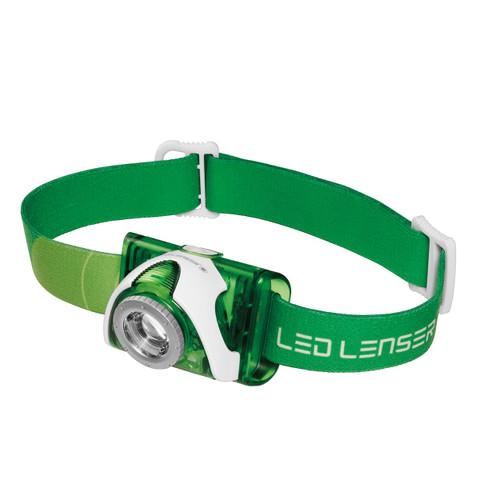 Led Lenser SEO 3 Headlamp Red