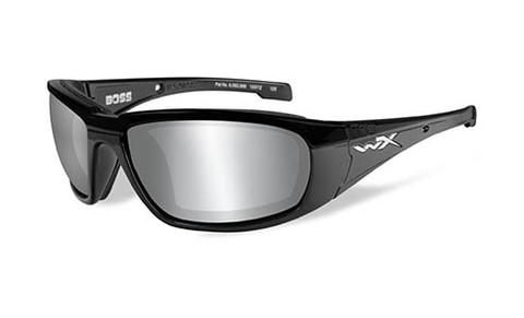 Wiley X Boss Grey Silver Flash