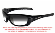 Wiley X Gravity Grey Photochromic Sunglasses