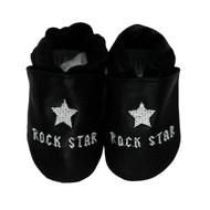 baby boys shoes  | black baby shoes  |  cool baby shoes  | leather baby shoes  | bobux  | robeez  | rock star baby  |  rocker baby |  punk baby