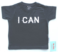 I Can baby, toddler and youth boys cool inspirational tee