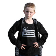 Infamous cool baby, toddler and boy's tee comes in sizes 6 months to 12 years