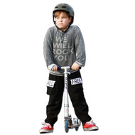 We Will Rock You | infant, toddler and kids l/s tee | black, grey