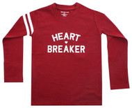 Heart Breaker Kids Tee l/s red and white