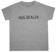 Hug Dealer, grey boys Tee