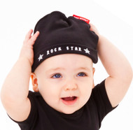 Rock star hat on baby model size 6-12 months