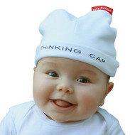 Thinking Cap cute baby hat on baby model size 6-12 months