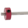pro vise stop by edge technology bridgeport milling machine stop rod collar