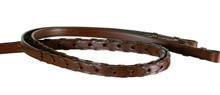 Reins shown in Oak Leather.